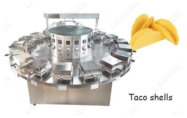 Industrial Taco Shell Baking Machine