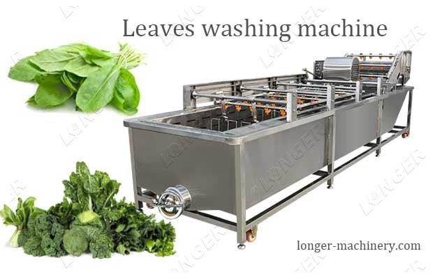 Efficient Leaves Vegetable Washing Cleaning Machine