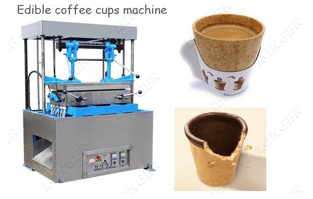 Edible Wafer Coffee Cups Making Machine Price