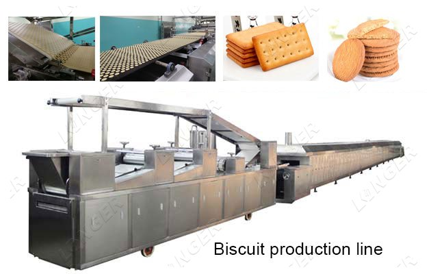 Multifunctional Biscuit Automatic Processing Plant Manufacturer
