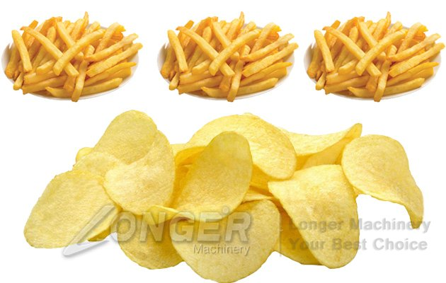 Compound Potato Chips Processing Plant