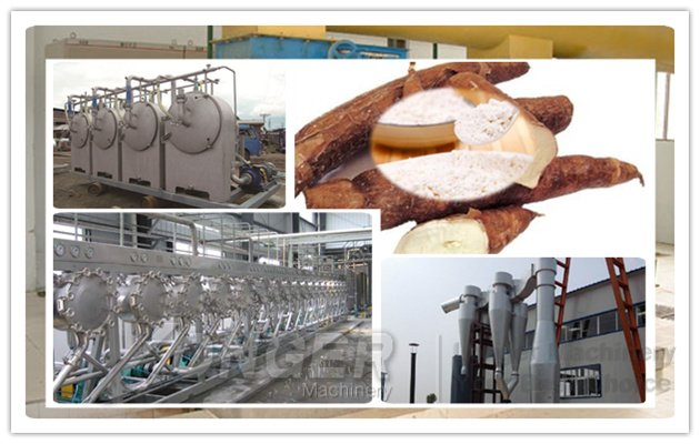 Cassava Starch Production Line Price