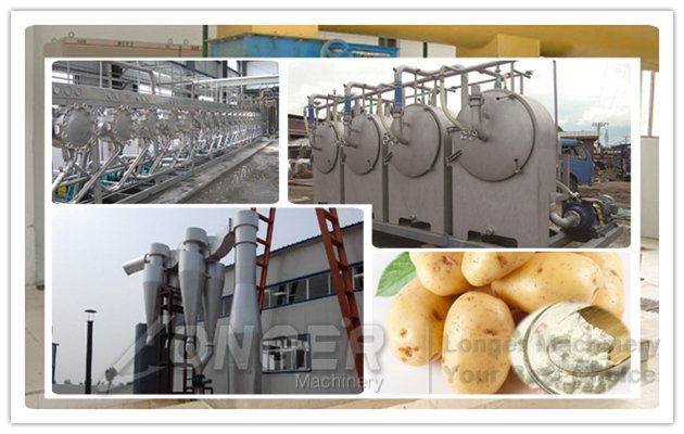 Potato Starch Product Plant