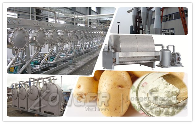 potato starch plant