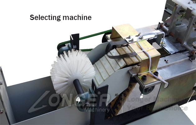 selecting machine