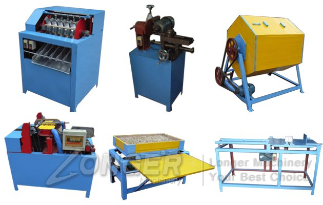 Wood Toothpick Processing machine