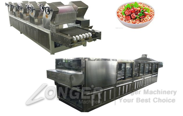 baked instant noodle machine