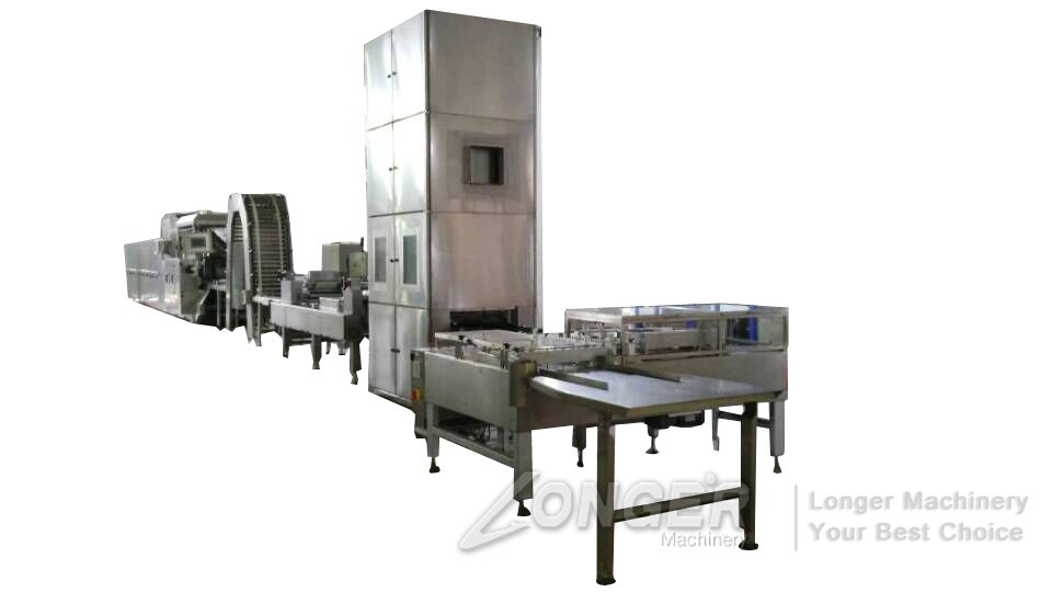 machine for making wafer biscuits