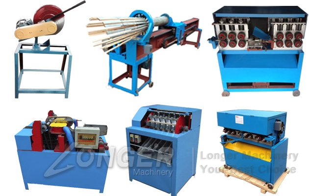 Bamboo Barbecue Sticks production line