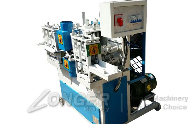 Round mop sticks machine