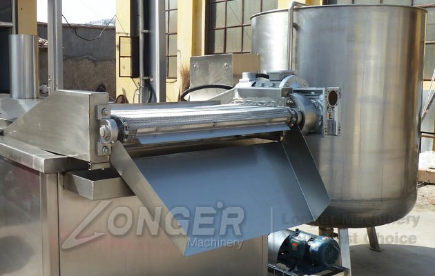 industrial peanut frying machine