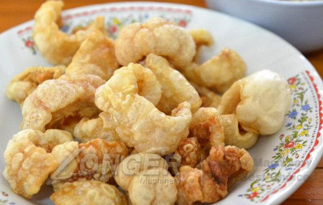 fried pork skin machine
