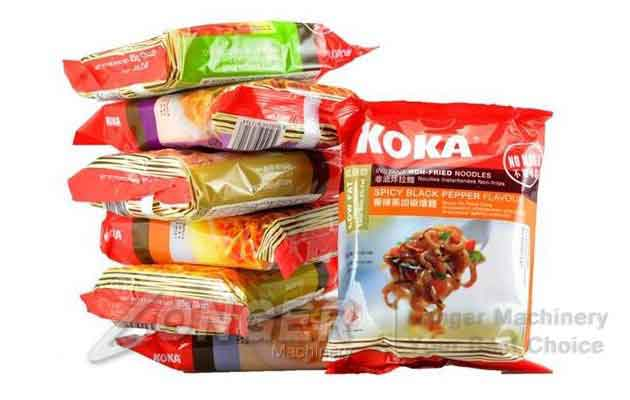 instant noodles pack machine