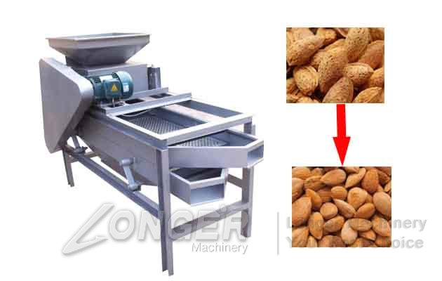 almond grading shelling machine