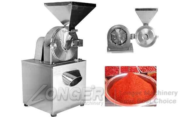 dry chili powder grinder machine