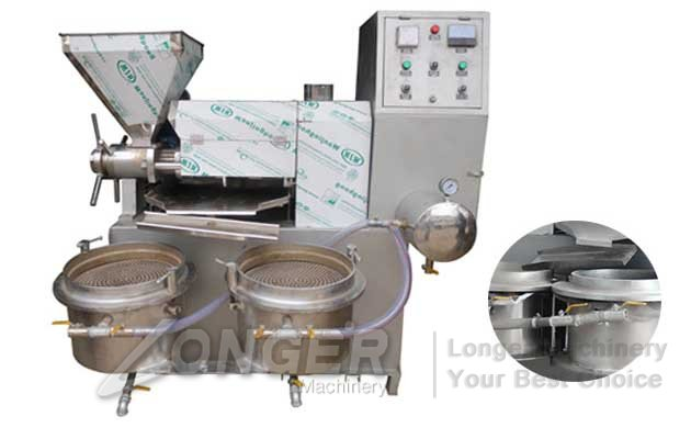 nut oil extractor machine