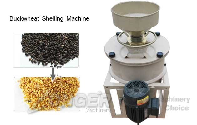 buckwheat hulling machine