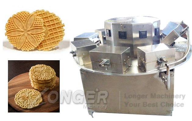 Automatic Pizzelles Cookie Maker Machine