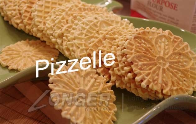 round pizzelle baking machine
