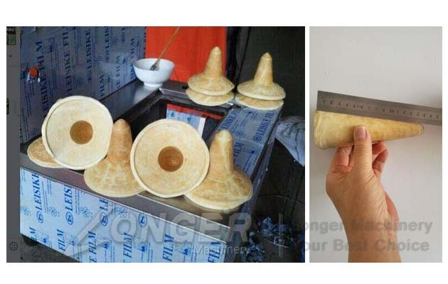 cones dough machine