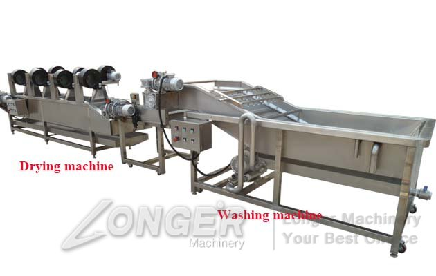 vegetable washer and dryer