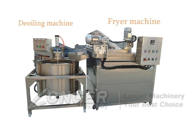 fried food oil removing machine