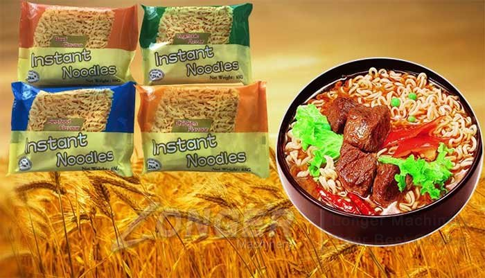 instant noodles production