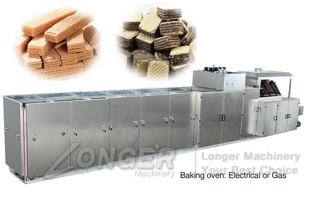longer wafer biscuits machines