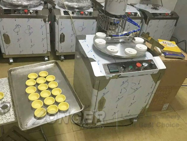 machine to hong kong egg tart