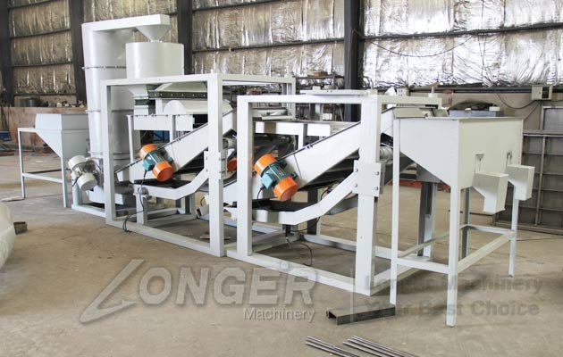 seed shelling machine