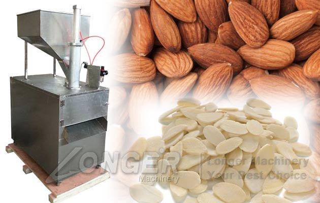 almond badam nut cutting machine