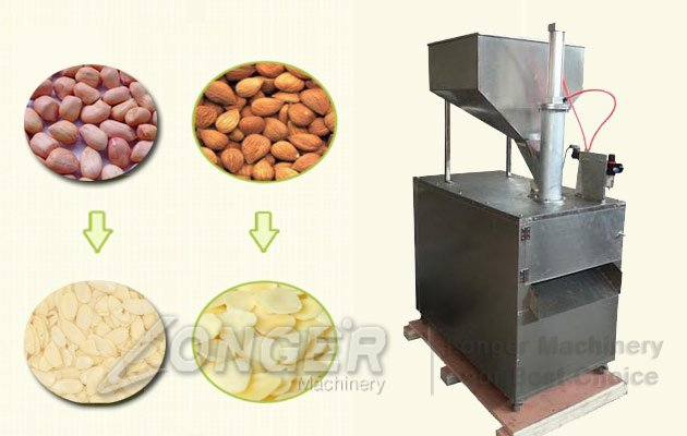 peanut slice cutting machine