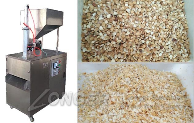 peanut slicer machine