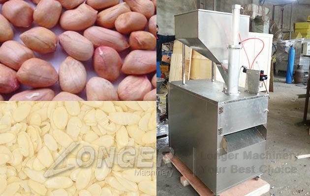 stainless steel nut slicing machine
