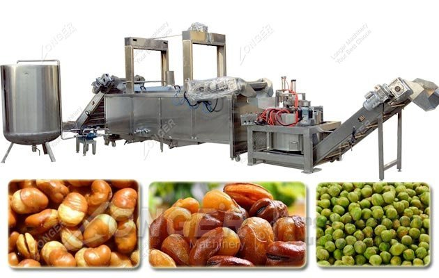 fried food processing line