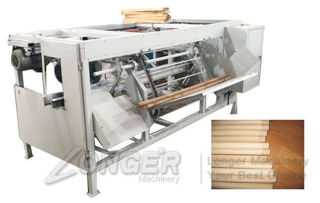 wood sticks threading machine