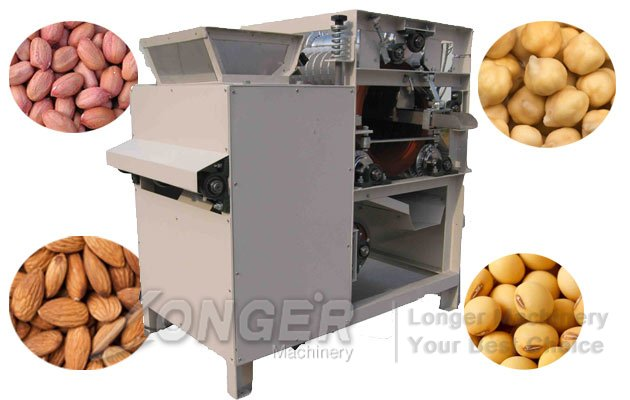 green almond peeling machine