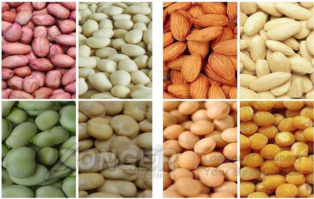 soybean peanuts peeling machine price