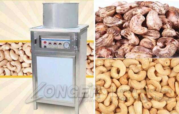 cashew nut peeler machine