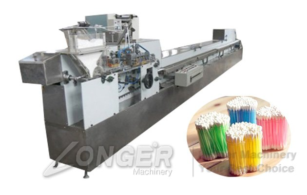 cotton ear buds making machine