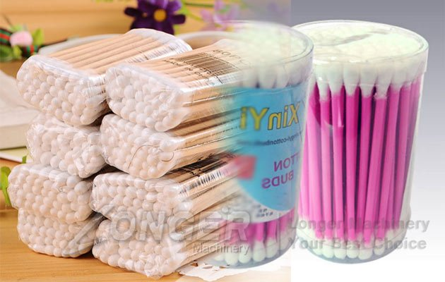 cotton swabs making and packing machine