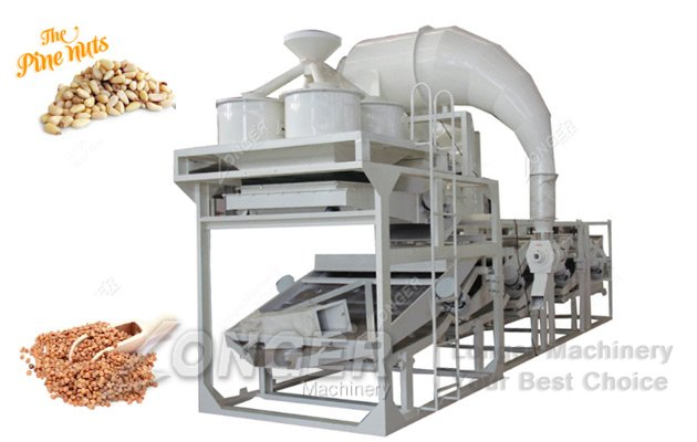 pine nut peeling machine