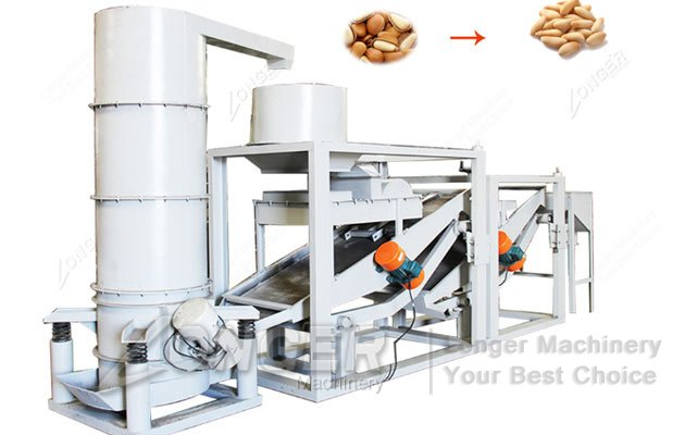 buckwheat seed shell removing machine
