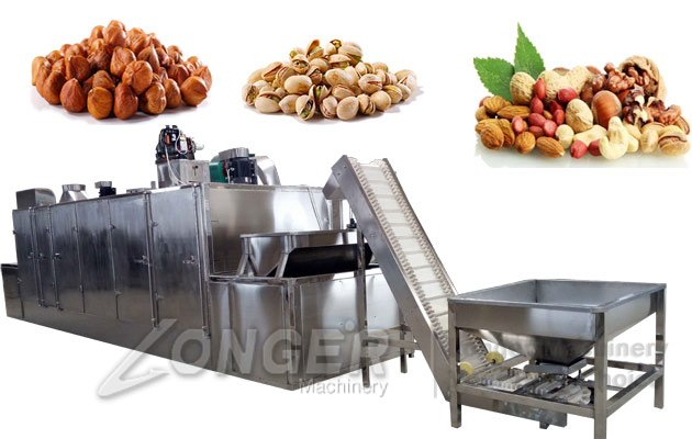continuous roasting machine