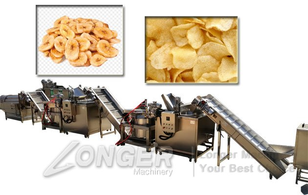 equipment for plantain chips