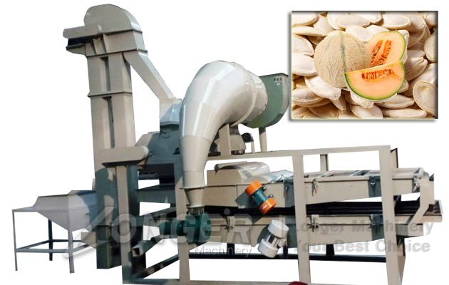 muskmelon seeds sheller machine