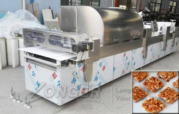 automatic peanut brittle forming cutting machine