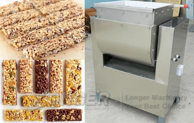 granola bars making machine