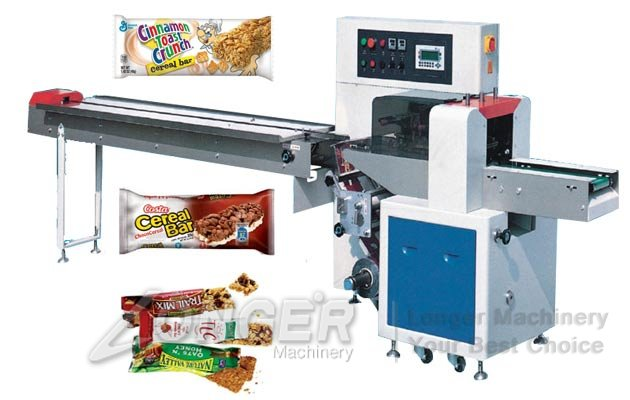 cereal bars packaging machine