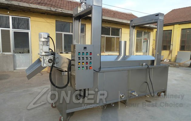 pork chicharrones fryer machine